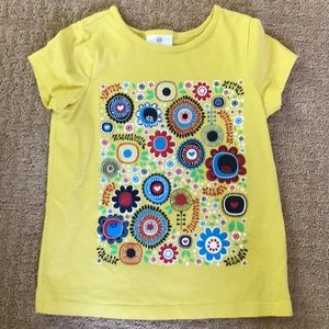 Hanna Andersson tee, happy yellow for summer!